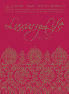 Angela Lehmann im Luxury Life Magazine No 41